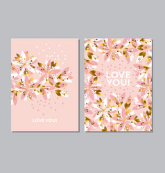 luxury elegant floral pattern vector image vector image