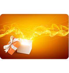 Magic Box vector image