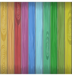 Rainbow colors wooden plane texture vector