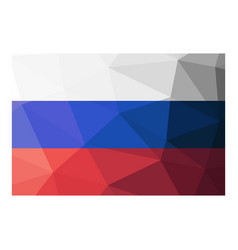 Russia flag vector