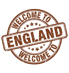 Welcome to england vector