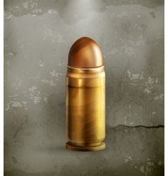 Bullet old style vector