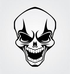 Skull tribal vector
