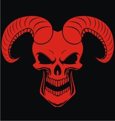Red demons vector