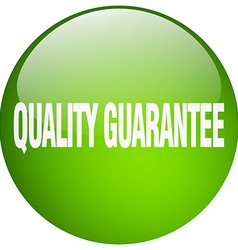 Quality guarantee green round gel isolated push vector