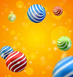 Abstract group of spheres vector