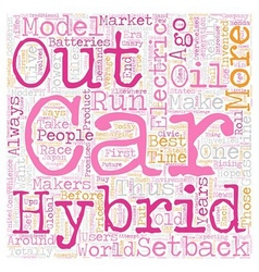 Electric and hybrid cars2 1 text background vector