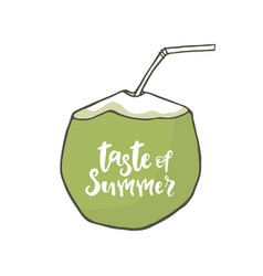 Taste of summer vector