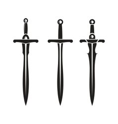 Sword Ancient Weapon Design vector image