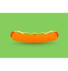 Tasty Hotdog vector image vector image