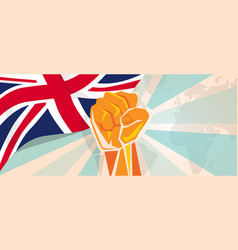 uk united kingdom england britain fight and vector image