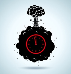 War clock vector
