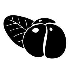 Ephedra icon simple style vector