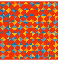 Colorful tessellation pattern vector image