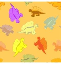 Funny dinosaur for kids vector