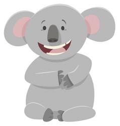 Koala bear animal character vector