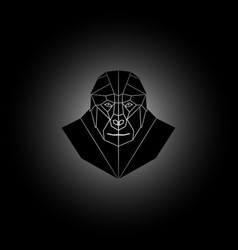 symmetrical geometric vector image