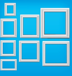 modern frame design vector image