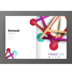 Molecule annual report vector