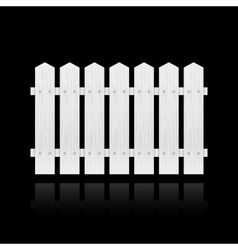 White fence tile vector