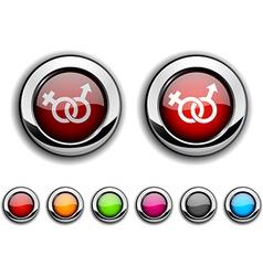 Sex button vector