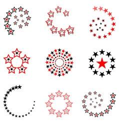 stars designs vector image