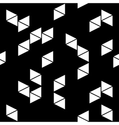 Rhombus white seamless pattern vector