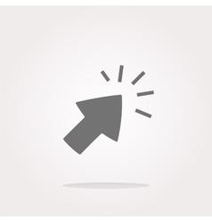 Click Icon Click Icon Eps10 Click Icon vector image vector image