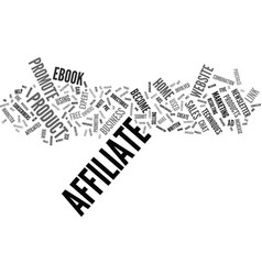 Five ways to increase your affiliate sales text vector