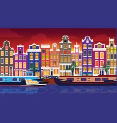 flat cartoon multicolor colorful historic vector image
