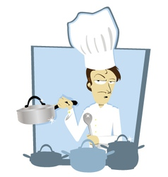 Funny Chef vector image