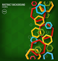 modern abstract design poster vector image vector image