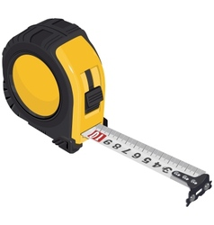 Single tape measure vector