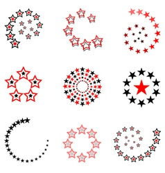 Stars designs vector