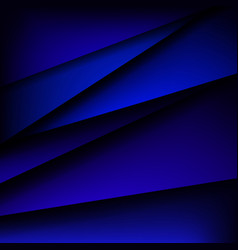triangles abstract art background vector image
