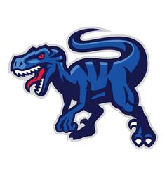 Velociraptor mascot vector