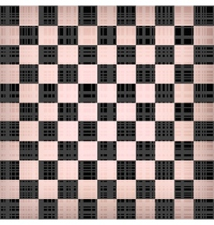 Grunge chessboard background vector