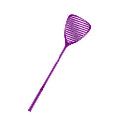 Flyswatter in purple design vector