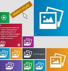 File jpg icon sign buttons modern interface vector