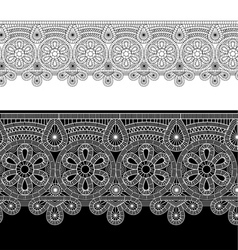 gentle lace vector image