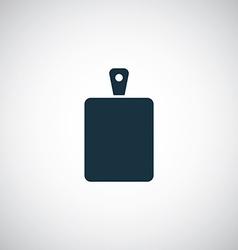 Cutting board icon vector