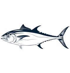 Graphic tuna vector