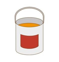 Paint bucket tool vector