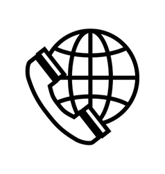 Sphere telephone global communication vector