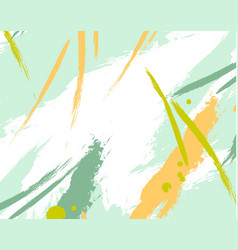 Abstract fresh fantasy splashgrunge green texture vector