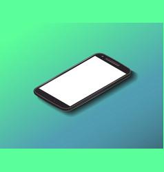 smartphone mock up vector image vector image