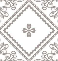 Tile seamless vector image vector image
