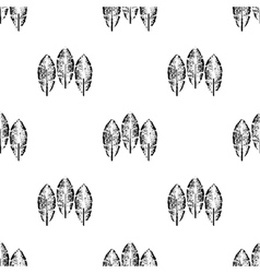 Tribal feathers on white background feathers vector