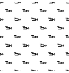 Video camcorder pattern simple style vector