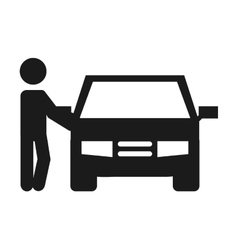 Car auto vehicle icon vector